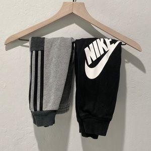 2 pair of jogger pants. Boys